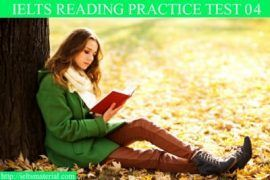 Reading Practice Test 04