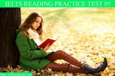 Reading Practice Test 05 with Solution