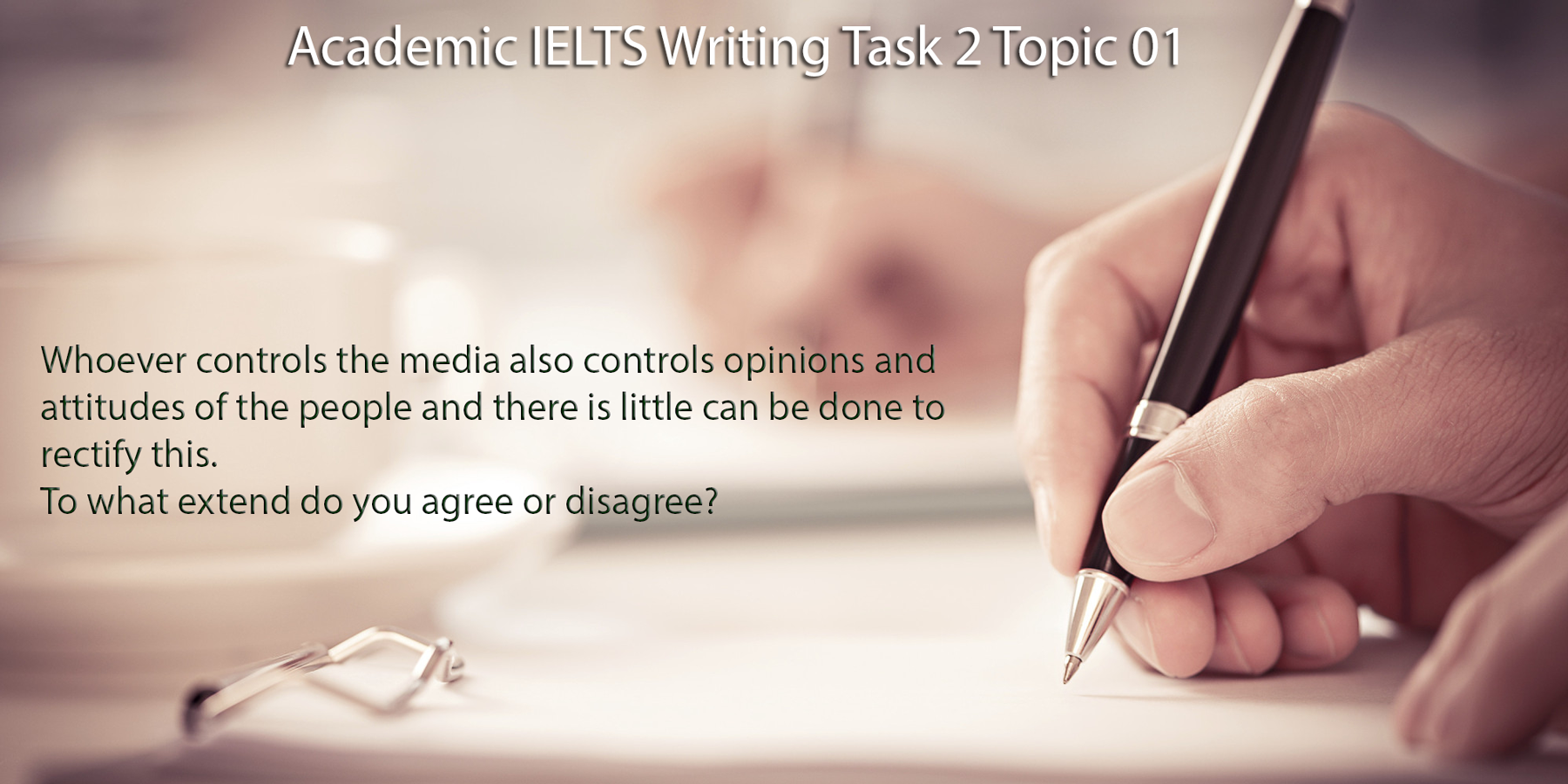 Academic IELTS Writing Task 2 Topic 01