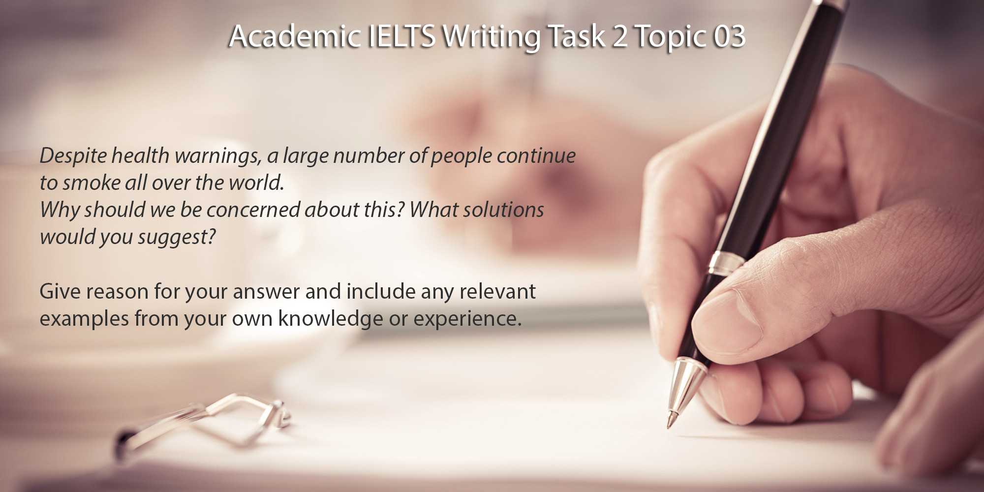 Academic IELTS Writing Task 2 Topic 03