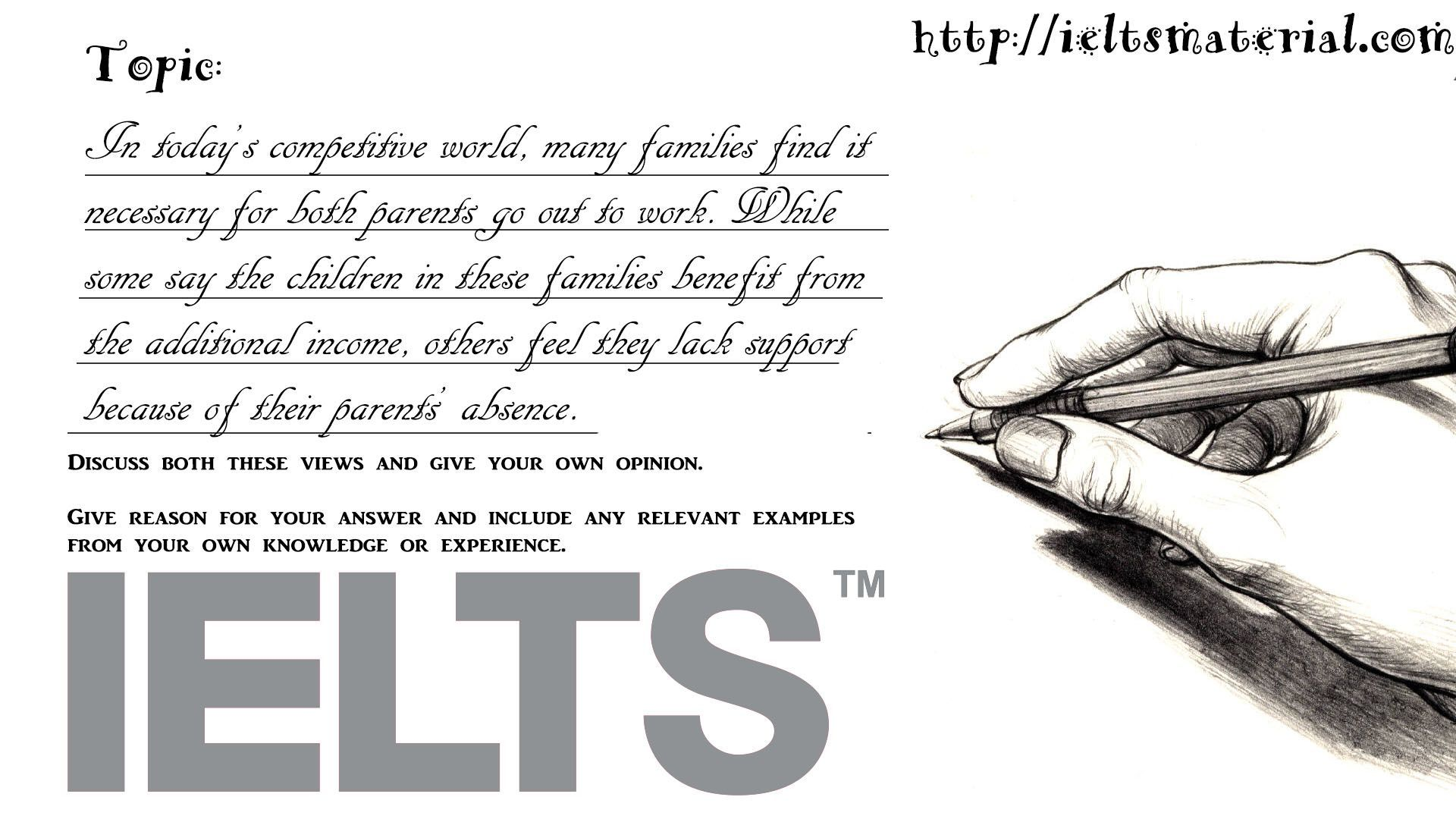 College application report writing ielts