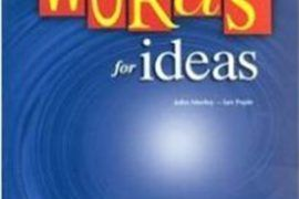 Words for Ideas: Teacher's Book by Ian Pople John Morley