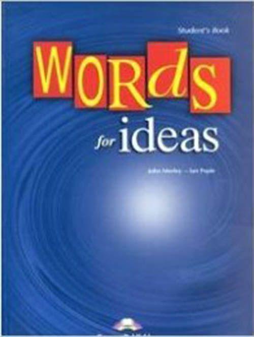 Words for Ideas: Teacher's Book by Ian Pople John Morley