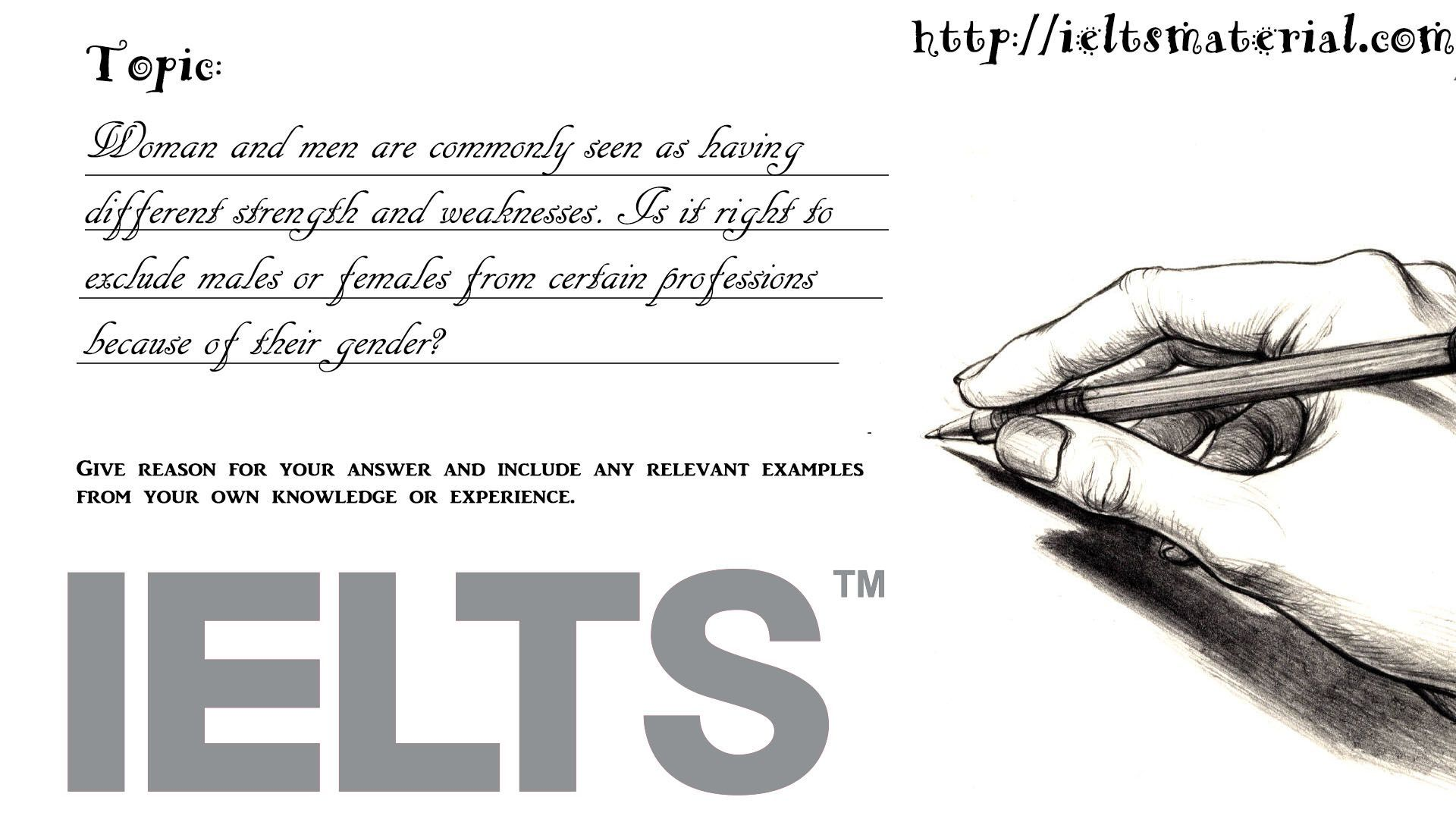 Academic IELTS Writing Task 2 Topic 07