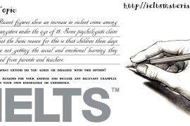 Academic IELTS Writing Task 2 Topic 08