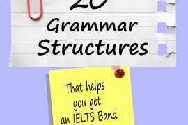 20 Grammar Structures for IELTS Writing