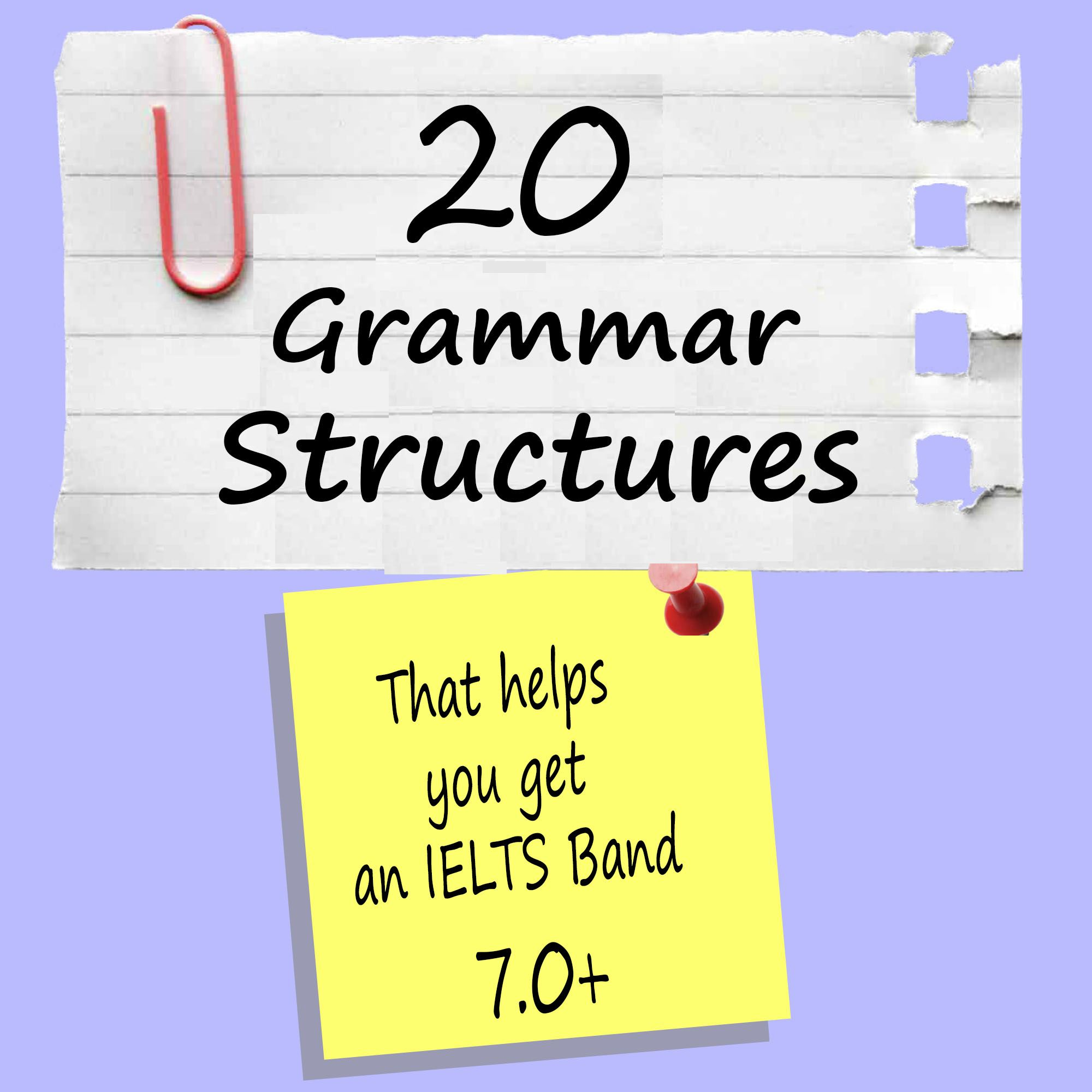 essay grammar structures How improve your ielts writing by using a range of grammar by focussing on meaning and combining more complex grammar with simpler structures.
