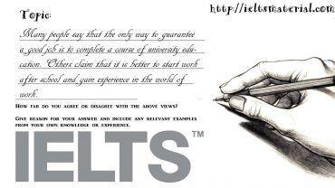 Academic IELTS Writing Task 2 Topic 09
