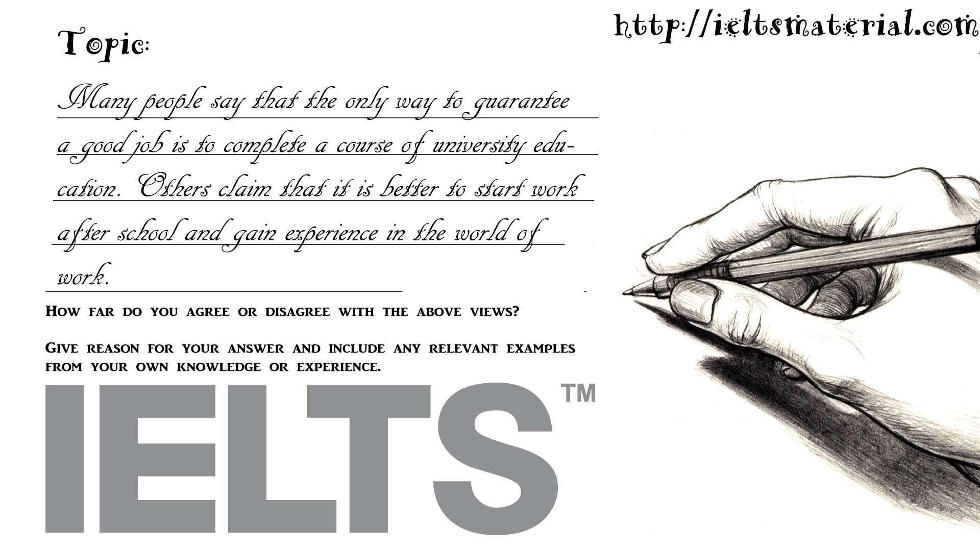 how to start writing task 2 in ielts Ielts writing task 2 is one of the most important parts of the ielts test task 2 is worth twice the marks of task 1, so a bad task 2 essay will reduce, not only your writing band score, but your overall ielts band score so do it right this guide will show you how note: general training v academic ielts the information in this guide is for.