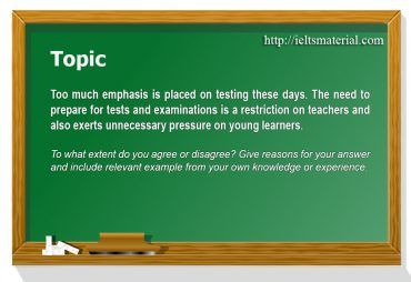 Academic IELTS Writing Task 2 - Topic 11