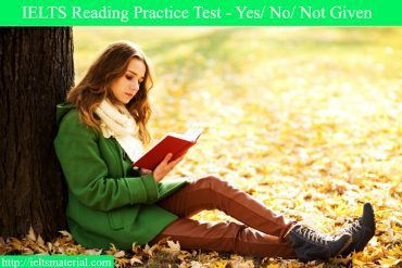 IELTS Reading Test (Yes-No-NotGiven) - The Risks of Cigarette Smoke