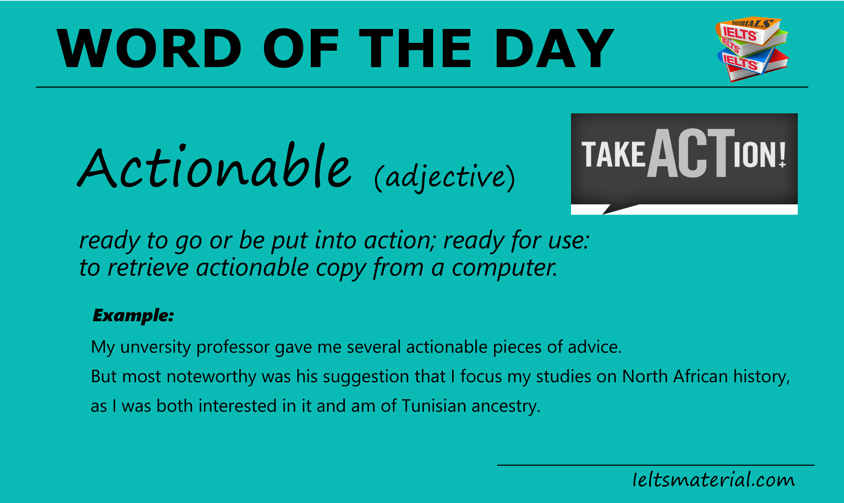 Word of The Day – Obtainable
