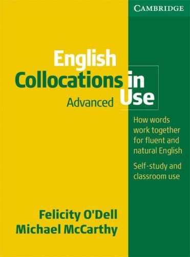 Free Download English Collocations in Use Advanced Edition Ebook PDF ...