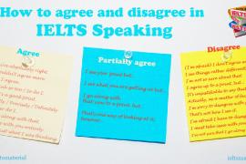 IeltsMaterial.com - IELTS Speaking - Agreemebt and Disagreement Vocabulary