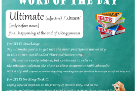 Ieltsmaterial.com - Word of the day - ultimate