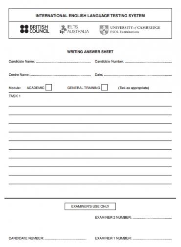 Ieltsmaterial.com - ielts answer sheet