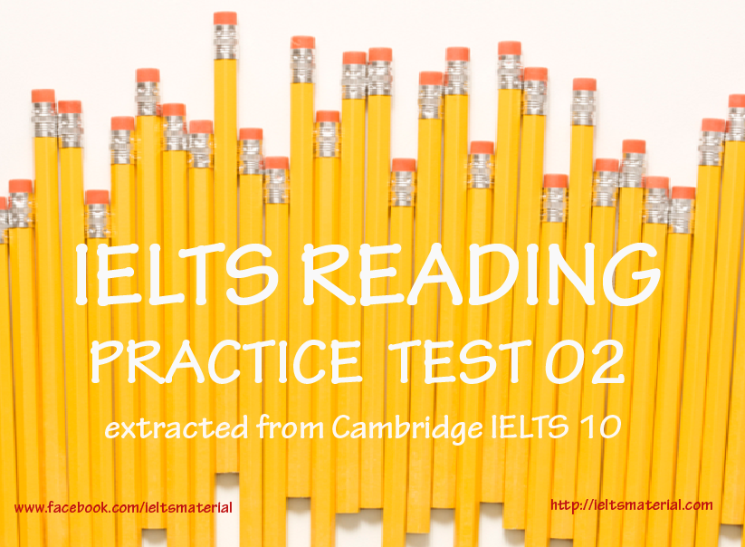 Daily IELTS Reading Practice Test 02 from Cambridge IELTS Practice