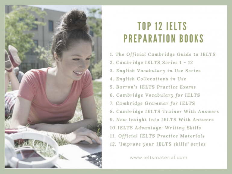 Top 12 IELTS Preparation Books