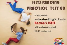 ielts reading practice test