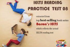 ielts reading practice test