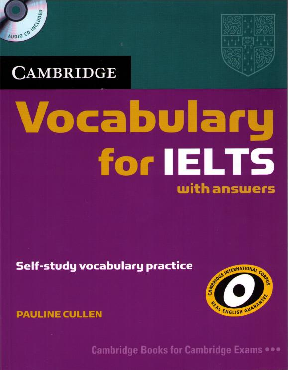 Free download top 12 ielts preparation books with pdf and audio cambridge vocabulary for ielts this advanced version of fandeluxe Gallery