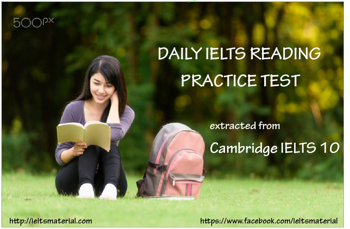 101 IELTS Reading Past Papers With Answers