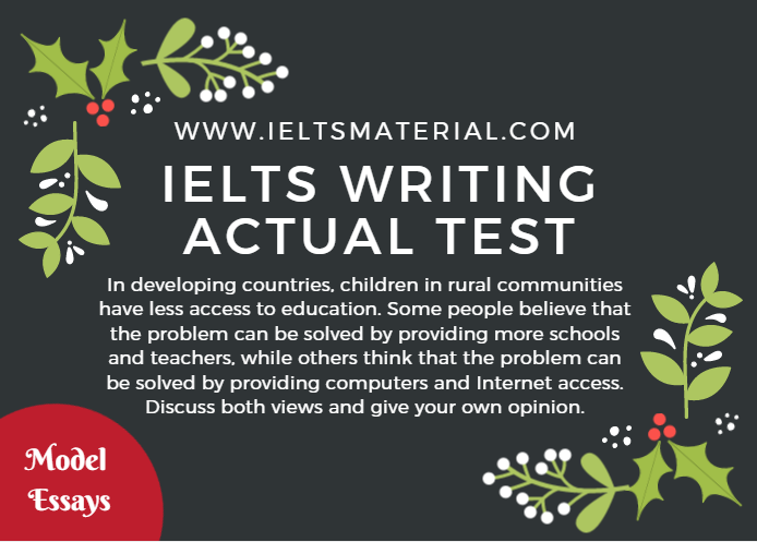 ielts essays academic