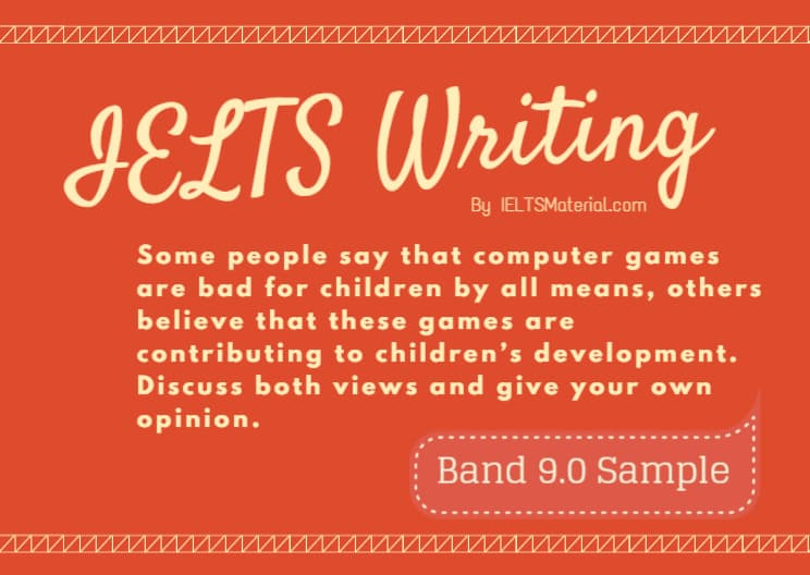 IELTS Writing Actual Test in April, 2016 & Band 9.0 Model Discursive Essay