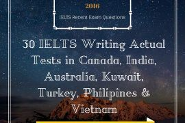 [IELTSMATERIAL.COM] IELTS Writing Actual Tests in Canada, India, Australia, Kuwait, Turkey, Philipines & Vietnam