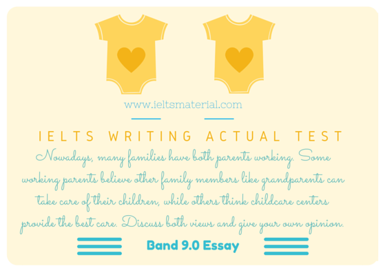 ielts writing actual test band discursive essay topic  com ielts writing band 9 essay childcare