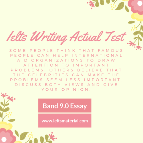 ielts writing actual test band argumentative essay topic  ielts writing actual test band 9 0 sample discursive essays topic celebrities