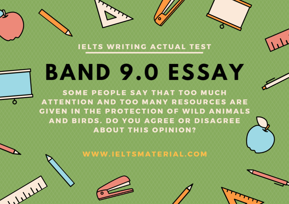 ieltsmaterial com ielts writing band essay topic wild animals