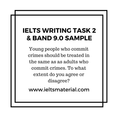 Youth crime ielts essay
