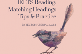 ieltsmaterial.com-matching headings