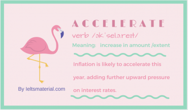 ieltsmaterial.com-word of the day - accelerate