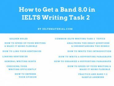 How to Get a Band 8.0 in IELTS Writing Task