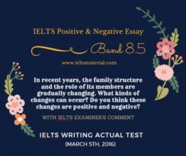 IELTS Writing Task 2: Positive or Negative Question