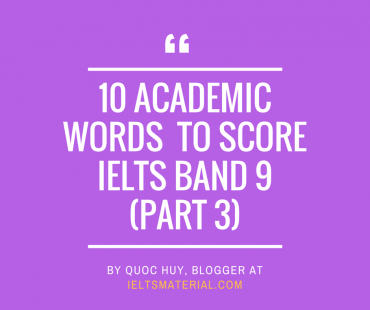 ieltsmaterial.com - academic vocabulary