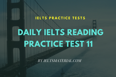 IELTSMATERIAL.COM - IELTS READING PRACTICE TEST 11