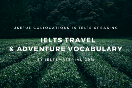 [IELTSMaterial.com] IELTS Travel & Adventure Vocabulary