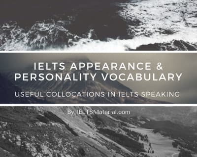 IELTS Appearance & Personality Vocabulary