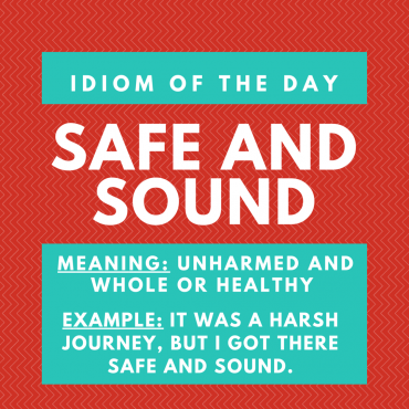 ieltsmaterial.com - idiom of the day for IELTS Speaking