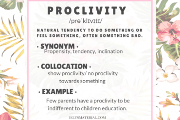 ieltsmaterial.com-word of the day - proclivity