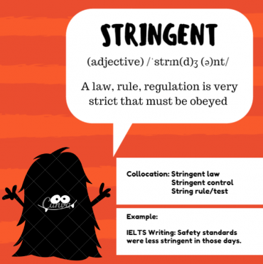 ieltsmaterial.com-word of the day - stringent