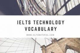 IELTS Technology Vocabulary
