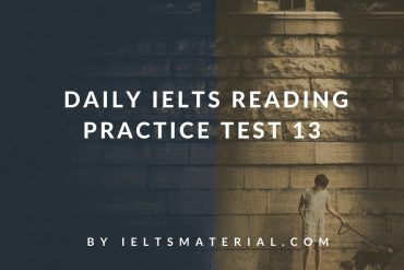 Daily IELTS Reading Practice Test 13