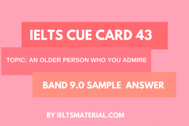 IELTS Cue Card Sample 43 by IELTSMATERIAL