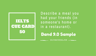 IELTS Cue Card Sample 50 By IELTS Material