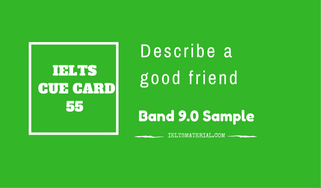 IELTS Cue Card Sample 55 By IELTS Material