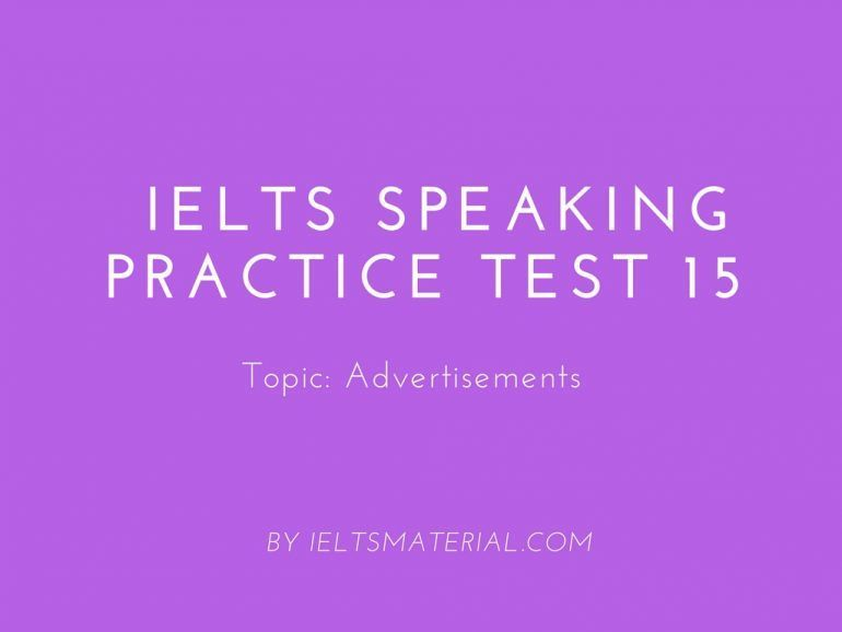 Ielts essay questions advertising